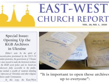 Dr. Tatiana Vagramenko featured in a special issue of East-West Church Report